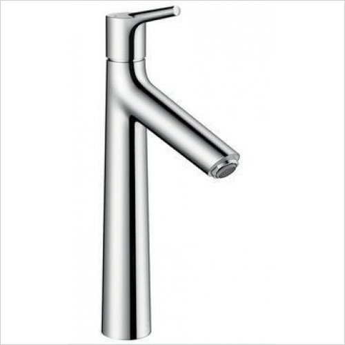 Hansgrohe Brassware - Talis S Single Lever Basin Mixer 190, Pop-Up Waste