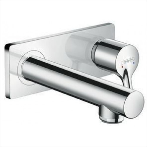 Hansgrohe Brassware - Talis S Single Lever Basin Mixer With Spout 165mm WM