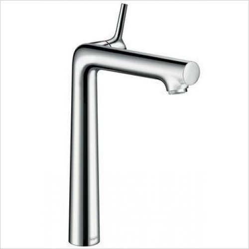 Hansgrohe Brassware - Talis S Single Lever Basin Mixer 250, Pop-Up Waste