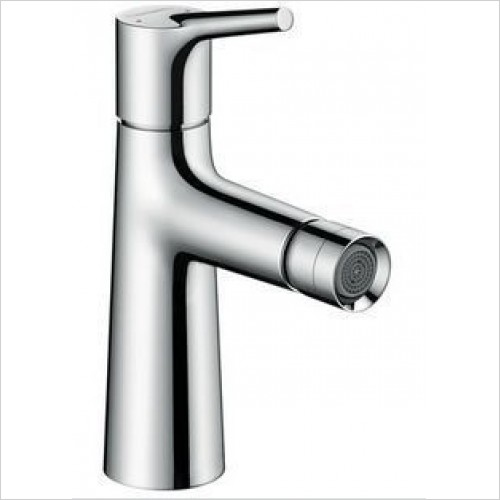 Hansgrohe Brassware - Talis S Single Lever Bidet Mixer, Pop-Up Waste