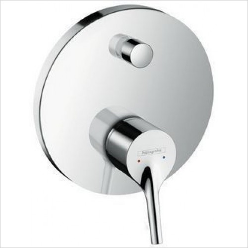 Hansgrohe Brassware - Talis S Single Lever Bath Mixer For Concealed Installation