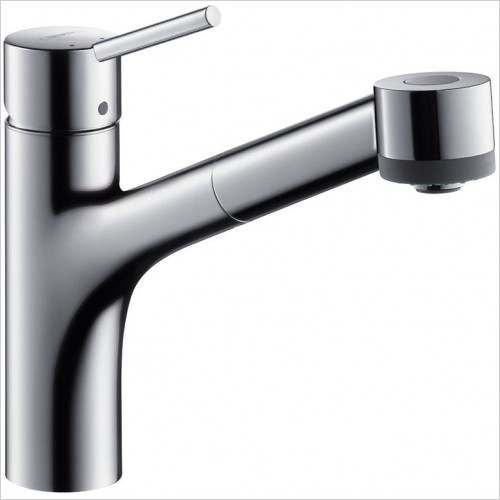 Hansgrohe Kitchen Taps - M5216-H170 Single Lever Kitchen Mixer With Pull-Out Spray