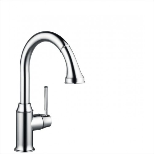 Hansgrohe Kitchen Taps - M5316-H240 Single Lever Kitchen Mixer With Pull-Out Spray