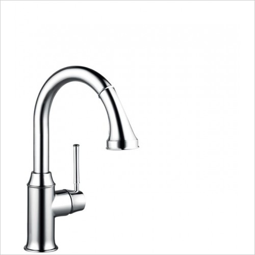 Hansgrohe Kitchen Taps - M5316-H210 Single Lever Kitchen Mixer With Pull-Out Spray