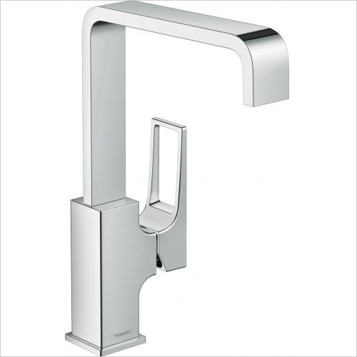 Hansgrohe Brassware - Metropol Single Lever Basin Mixer 230 With Push-Open Waste