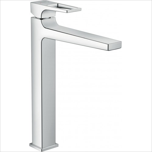 Hansgrohe Brassware - Metropol Single Lever Basin Mixer 260 With Push Open Waste