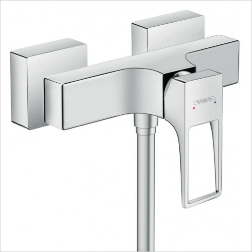 Hansgrohe Brassware - Metropol Single Lever Shower Mixer For Exposed Installation
