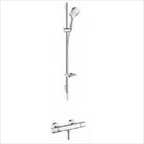 Hansgrohe Brassware - Soft Cube Raindance Select Rail Kit With Valve
