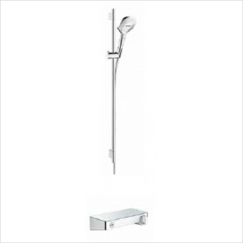 Hansgrohe Brassware - Soft Cube Raindance Select Rail Kit With Select Valve