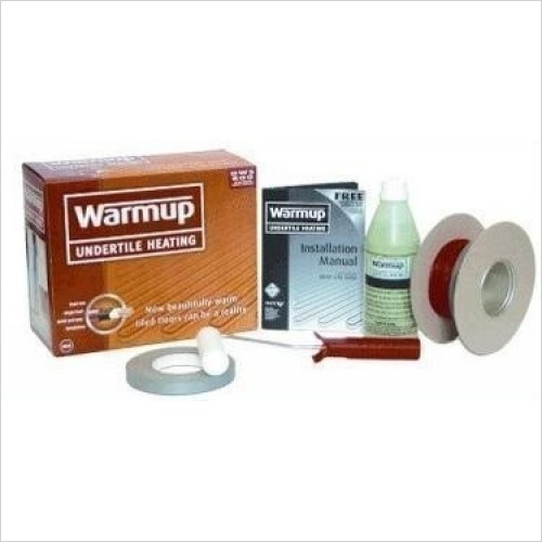 Warmup Matts - Loose Wire Undertile Heating System - 4.5 - 5.9m²