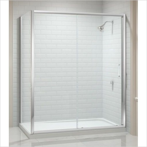 Merlyn Shower enclosures - 8 Series Colour Side Panel 800mm