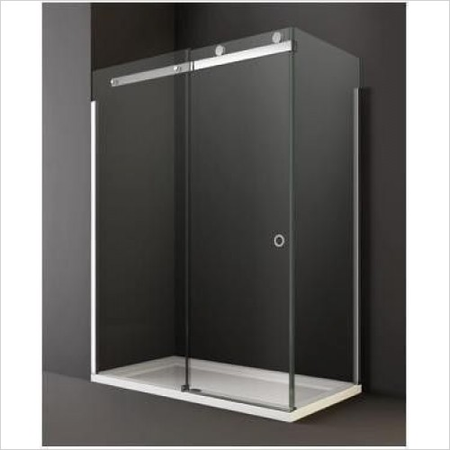 Merlyn Shower enclosures - 10 Series Sliding Door Side Panel 760mm