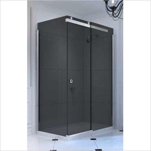 Merlyn Shower enclosures - 10 Series Sliding Door Side Panel 800mm