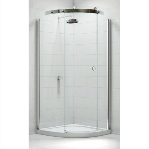 Merlyn Shower enclosures - 10 Series 1 Door Quad 800mm LH