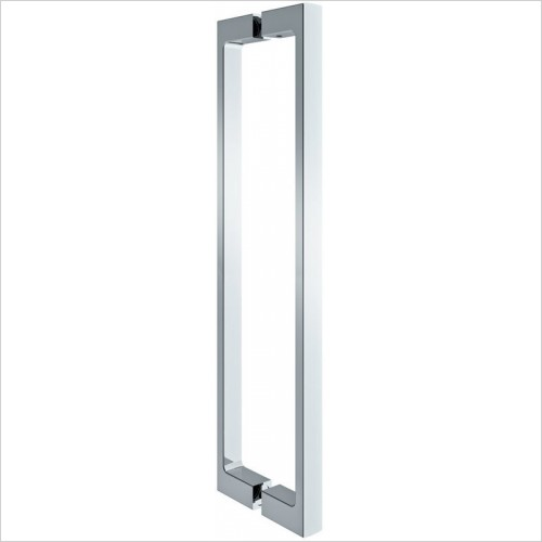 Merlyn Shower enclosures - 10 Series Pivot Door Side Panel 800mm