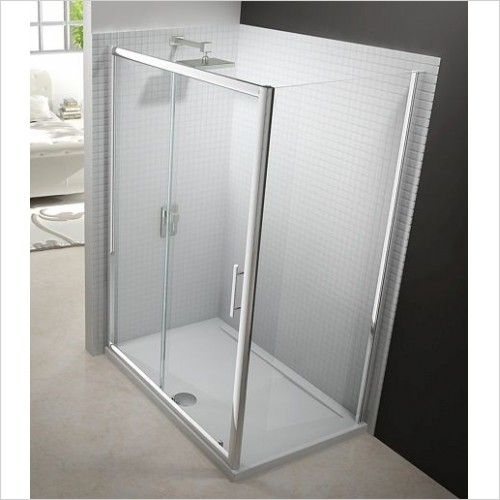 Merlyn Shower enclosures - 6 Series Side Panel 700mm