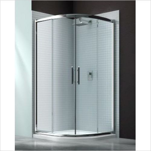 Merlyn Shower enclosures - 6 Series 2 Door Quad 1000mm