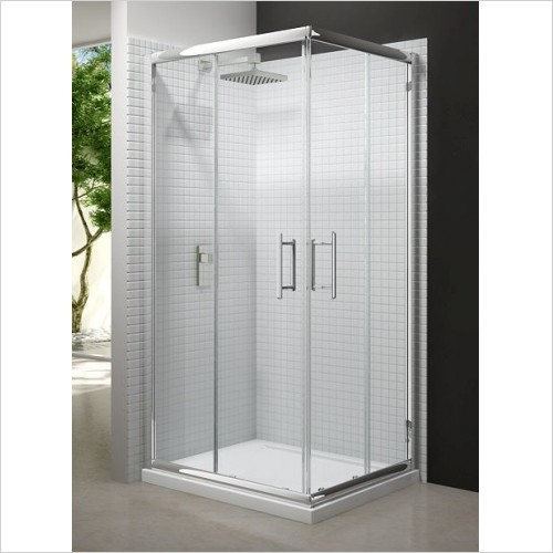 Merlyn Shower enclosures - 6 Series Corner Door 900mm