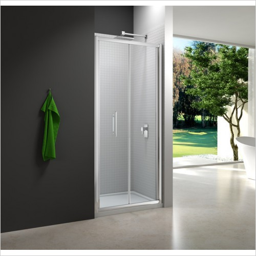Merlyn Shower enclosures - 6 Series Bifold Door 700mm