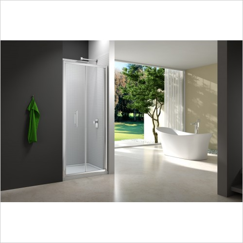 Merlyn Shower enclosures - 6 Series Bifold Door 900mm