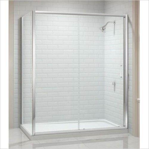 Merlyn Shower enclosures - 8 Series Side Panel 700mm