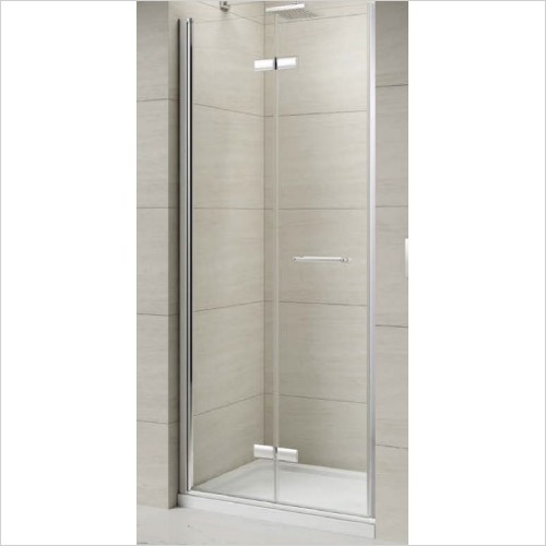 Merlyn Shower enclosures - 8 Series Frameless Hinged Bifold Door 1000mm