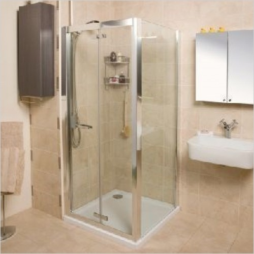 Roman Shower Enclosures - Embrace Bi-Fold Door 900mm