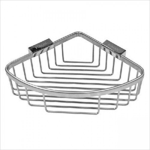 Roman Accessories - Large Curved Corner Shower Basket