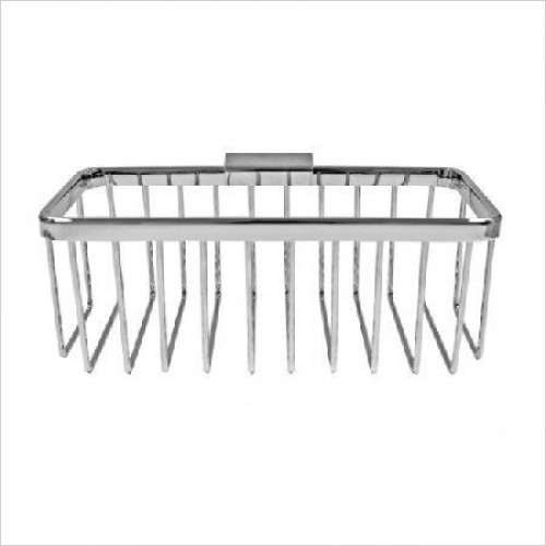 Roman Accessories - Large Rectangular Shower Basket