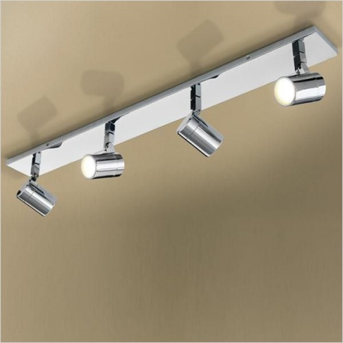 Hib Lighting - Quartet Spot Light 85 x 9.5 x 12cm