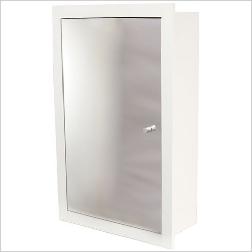 Abacus Mirror/Cabinet - Trio Cabinet 550mm Recessed