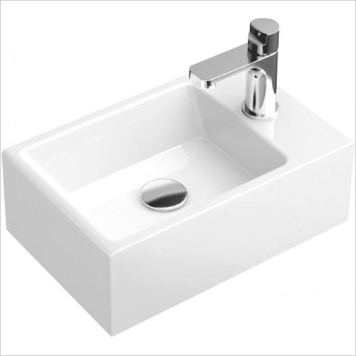 Abacus Washbasin - Pure Cloakroom Basin 400mm