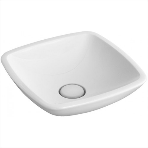 Abacus Washbasin - Zoli Square Countertop Basin 430mm