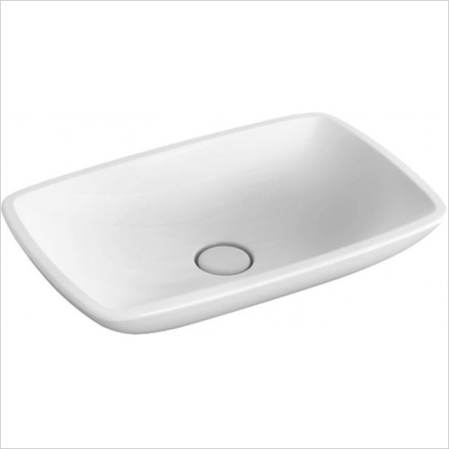 Abacus Washbasin - Allure Flat Countertop Basin 585 x 380mm