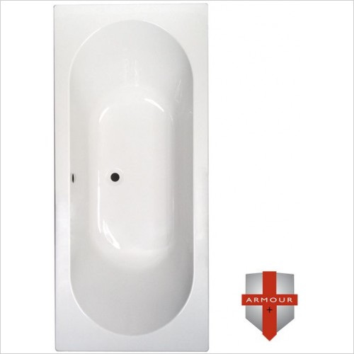 Abacus Baths - Series 1 Double Ended Bath 1800 x 800mm
