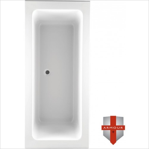 Abacus Baths - Series 2 Square Double Ended Bath 1700 x 800mm