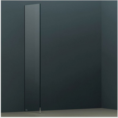 Abacus Wetroom Panels - X Series Glass Panel 590mm