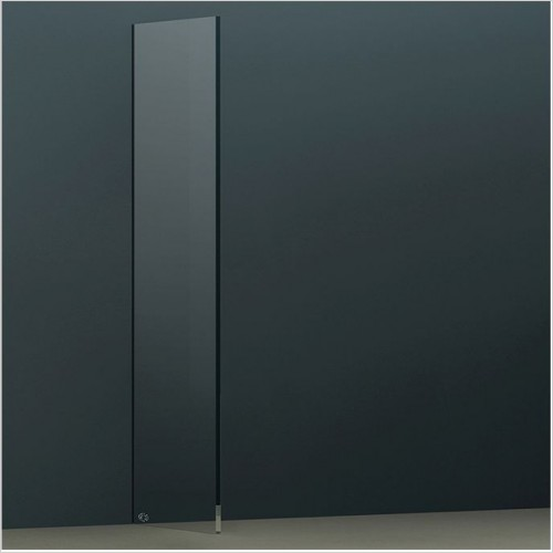 Abacus Wetroom Panels - X Series Glass Panel 690mm