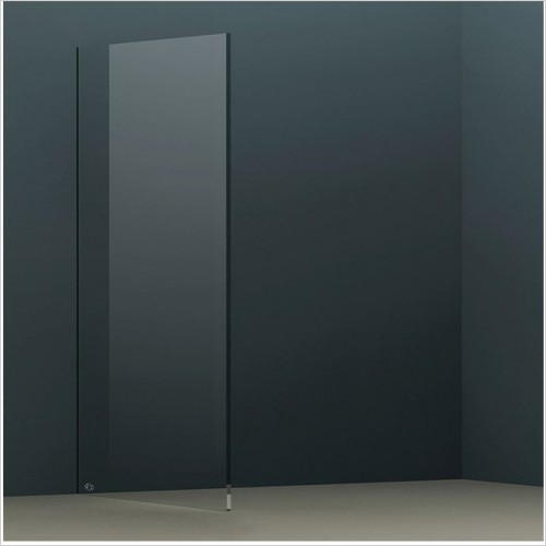 Abacus Wetroom Panels - X Series Glass Panel 835mm
