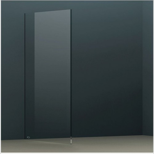 Abacus Wetroom Panels - X Series Glass Panel 890mm