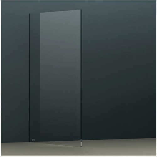 Abacus Wetroom Panels - X Series Glass Panel 990mm