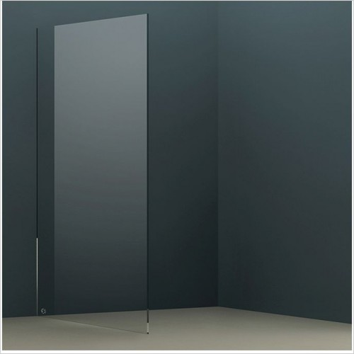 Abacus Wetroom Panels - X Series Glass Panel 1090mm
