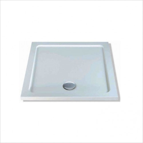 Bathwise Shower Tray - 40mm Low Profile Tray 80x80cm
