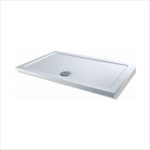 Bathwise Shower Tray - 40mm Low Profile Tray - 110x80cm