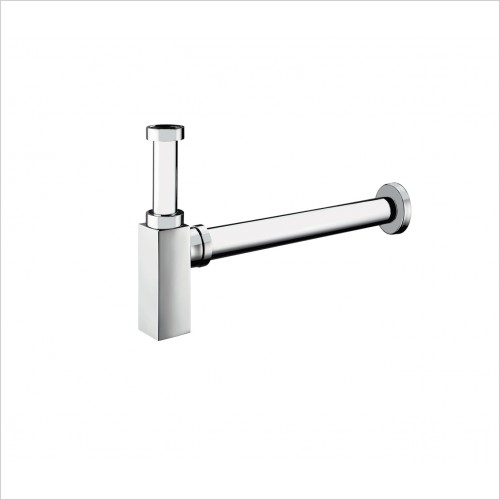 Bathwise brassware - Universal-line Square bottle trap 400mm