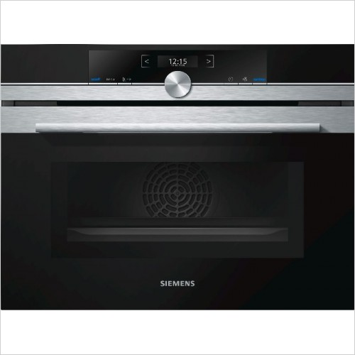 Siemens Combi-Appliances - iQ700 Compact45 Multifunction Oven With Microwave