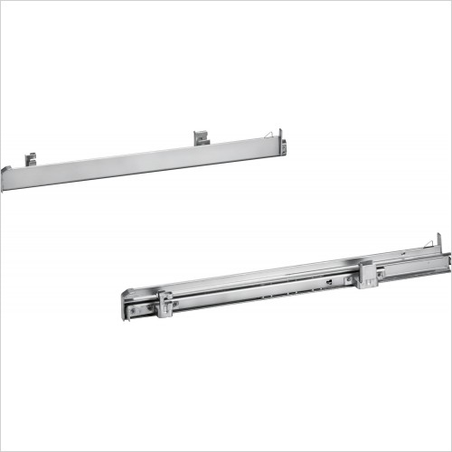 Siemens Accessories - iQ500 1 Pair Of Level Independent ClipRail Telescopic Rails