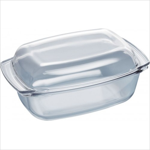 Siemens Accessories - iQ700/iQ500 5.4L Capacity Oval Glass Casserole Dish With Lid