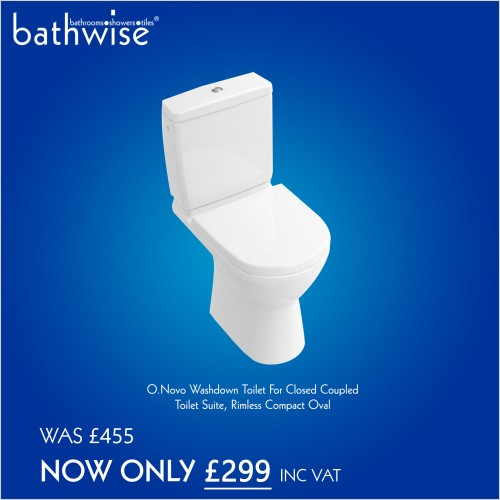 Special Offers - Villeroy & Boch complete O novo toilet rimless close coupled