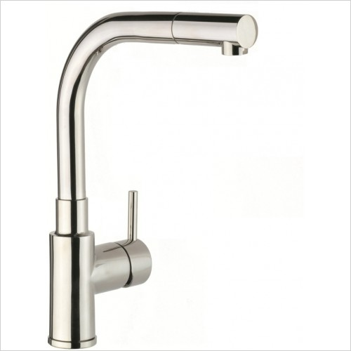 Just Tap Kitchen Sink Mixer - Apco Single Lever Sink Mixer With Pullout Spout